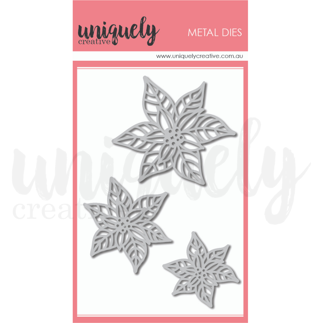 Uniquely Creative Die - Poinsettia