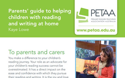Reading and writing with your children