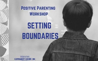 Free Parent Workshop – Monday March 9th