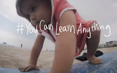 You Can Learn Anything – a clip to show your children