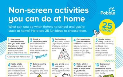 Non-Screen Time Activities